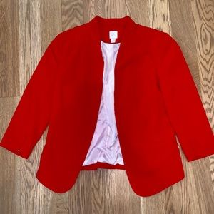 Lauren Conrad red blazer